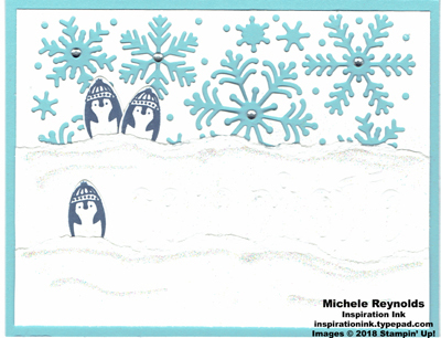 Making every day bright penguin celebration watermark