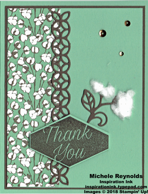 Accented blooms cotton thank you watermark