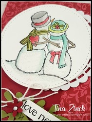 Tina zinck spirited snowmen