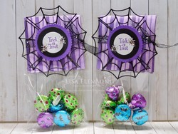 Cauldron bubble hallowen treat bags