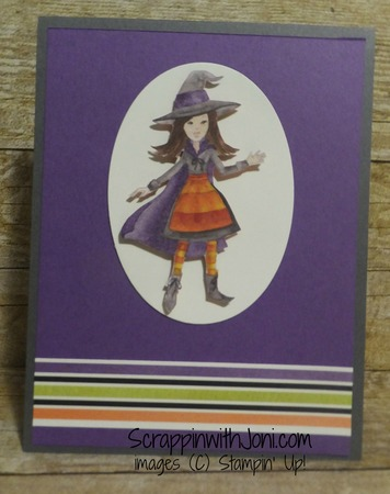 Witch in gorgeous grape