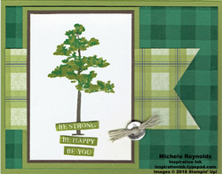 Rooted in nature plaid cypress watermark