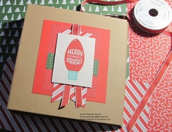Merry and bright hh album cover