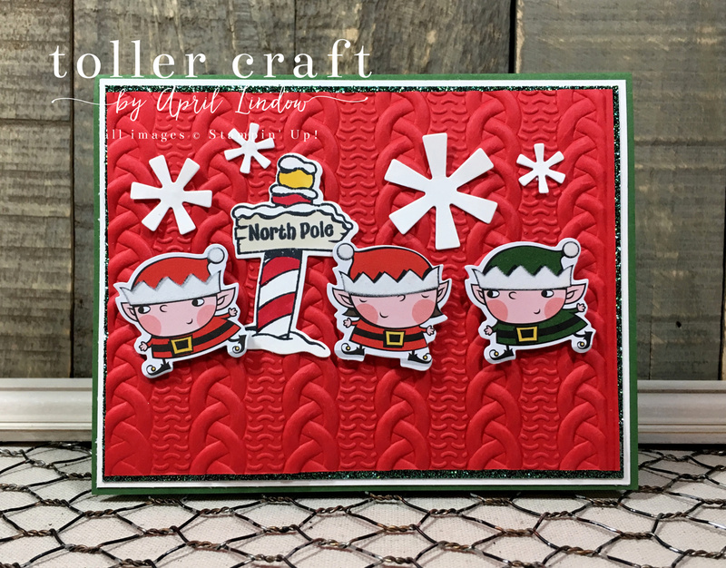 Signs of santa knit card