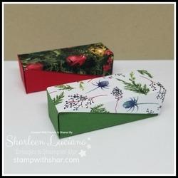 Small side hinge box