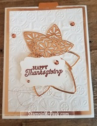 Thanksgiving card front