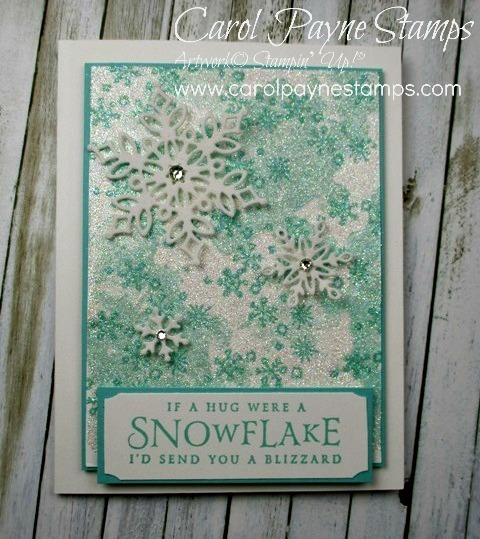 Stampin up beautiful blizzard carolpaynestamps1