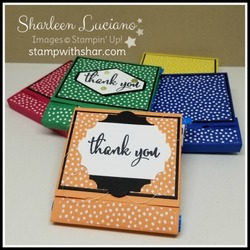 Envelope punch board candy wrap
