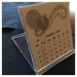 Desk calendar 2