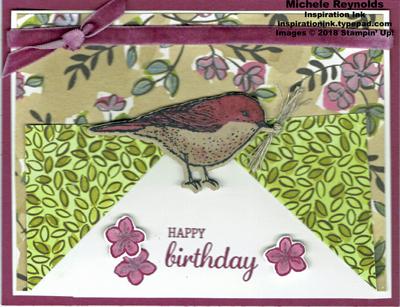 Best birds paper fold birthday watermark