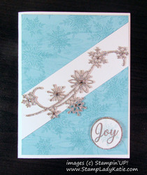 Glistening snow swirl by stampladykatie