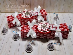 Snow is glistening christmas crackers tutorial