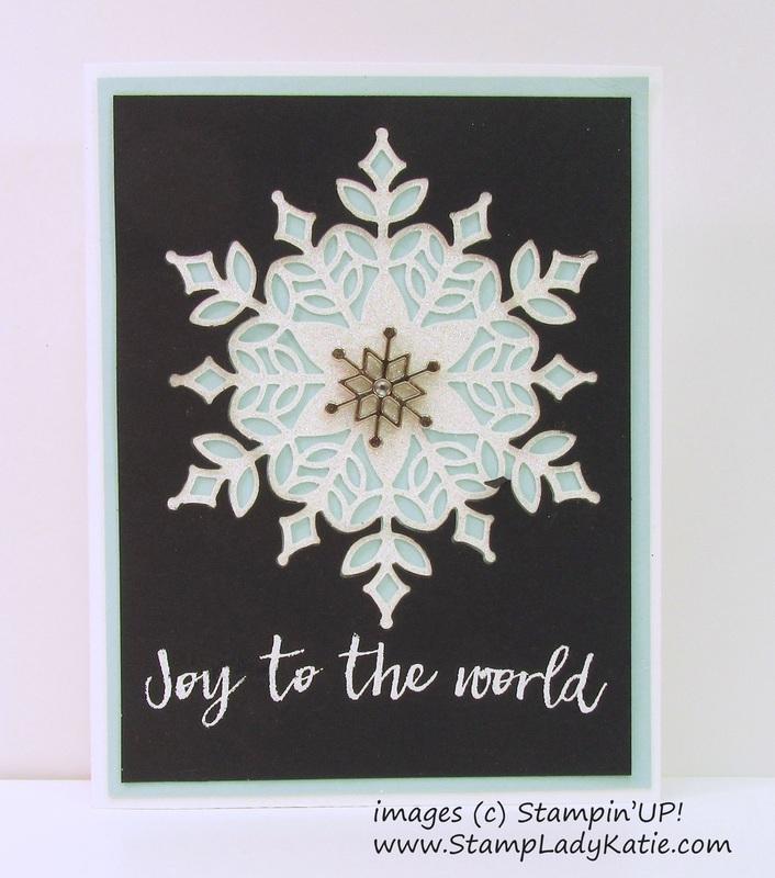 Snow is glistening by stampladykatie