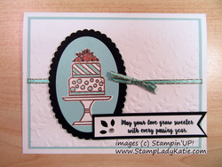 Piece of cake card  1 of 8 bystampladykatie