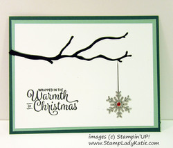 Seasonal layers inlay w snowflake by stampladykatie
