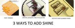 3 ways to add shine