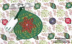 Tags   tidings ornament gift certificate holder watermark