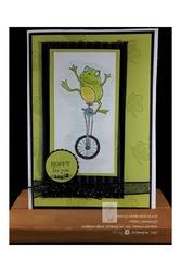 Watermark frog