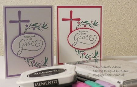 His grace  2019 stampin up  2