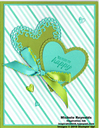 Meant to be anniversary hearts watermark
