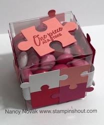 Puzzle candy box