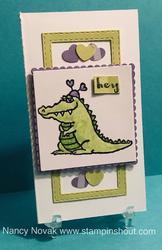 Alligator narrow card