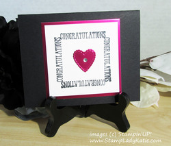 Well said sentiment frame 01 by stampladykatie