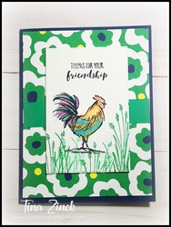 Home to roost serene stamper