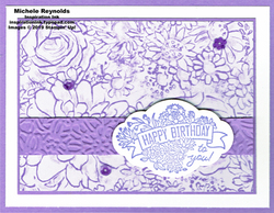 Label me pretty heather birthday flowers watermark
