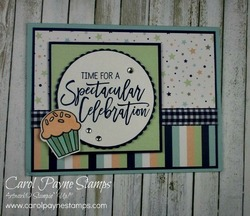 Stampin up birthday cheer carolpaynestamps1