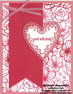 Itty bitty greetings floral love watermark
