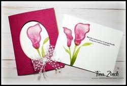 Lasting lily stampin up tina zinck