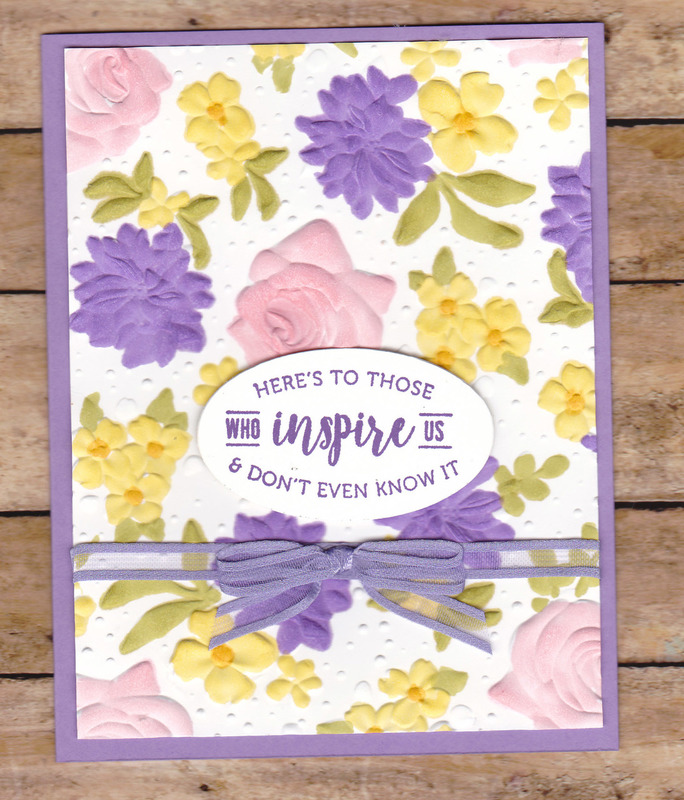 Country floral emb