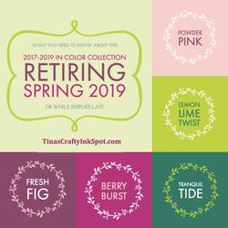 2019 retiring colors