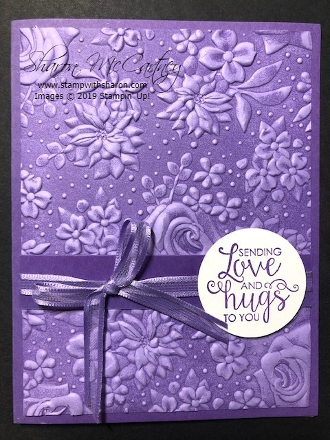 0319 country floral purple