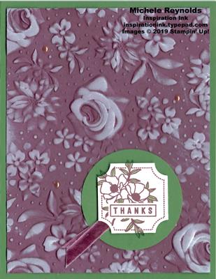 Darling label flower thanks watermark