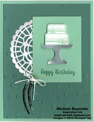 Piece of cake mint cake watermark