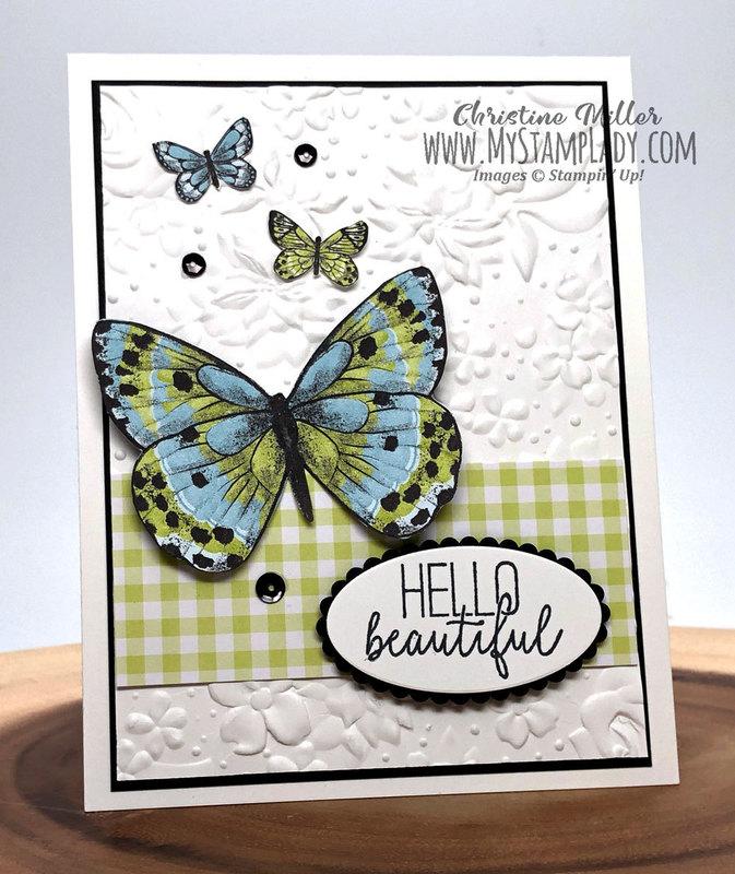 Botanical butterfly 3