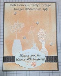 Embossed card 1   vibrant vases   03 13 19