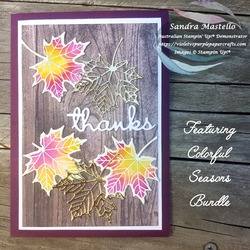 Colourful seasons autumn card 02