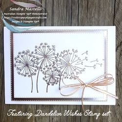 Dandelion wishes wedding card 02