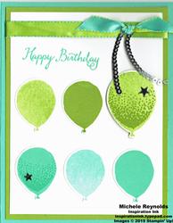 Balloon celebration balloon rows birthday watermark