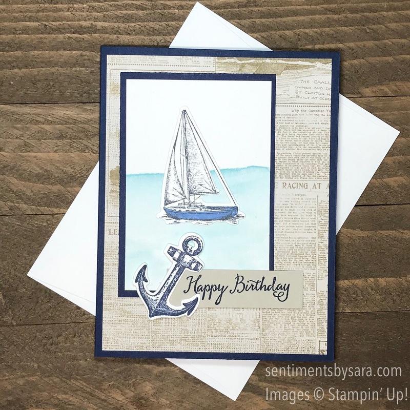 Sentiments by sara sail birthday