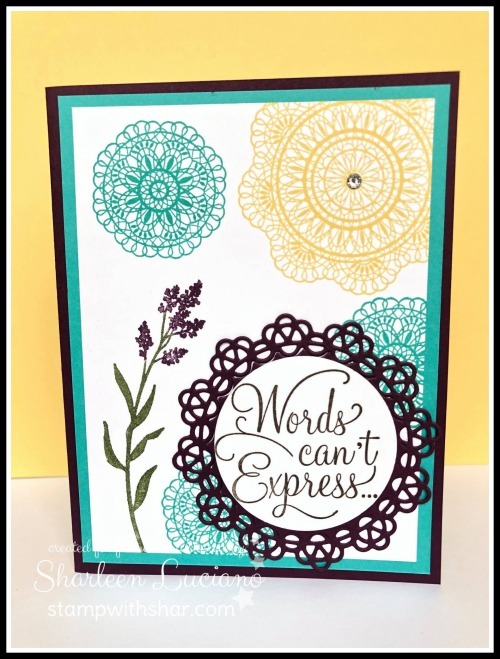 Dear doily front