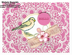 Free as a bird lacy hello watermark