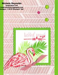 Fabulous flamingo tickled pink flamingo watermark