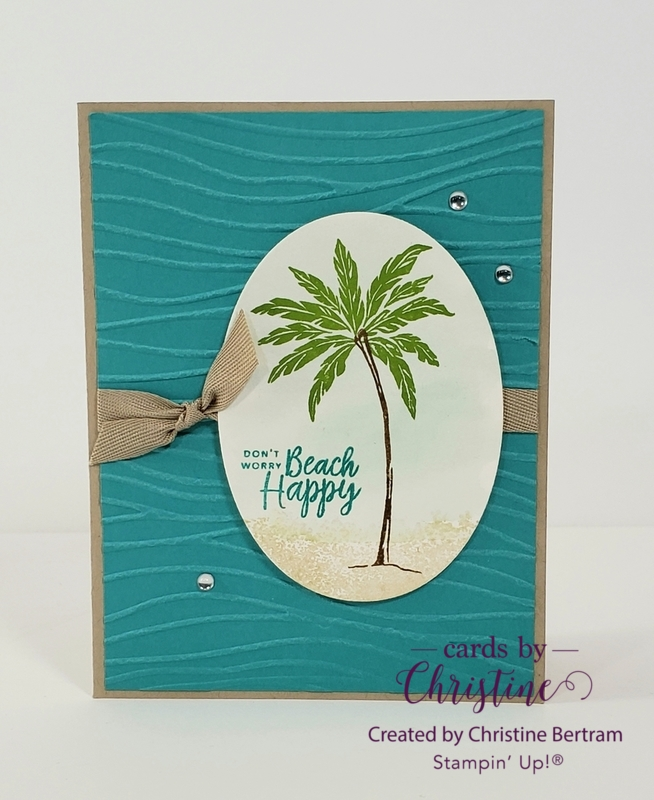 May cards class 2019 palm tree