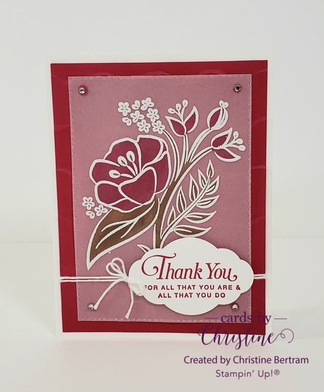May cards class 2019  flower