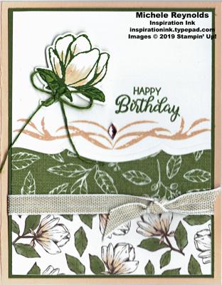 Good morning magnolia single bloom birthday watermark