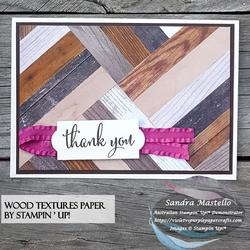 Wood textures herringbone card 03